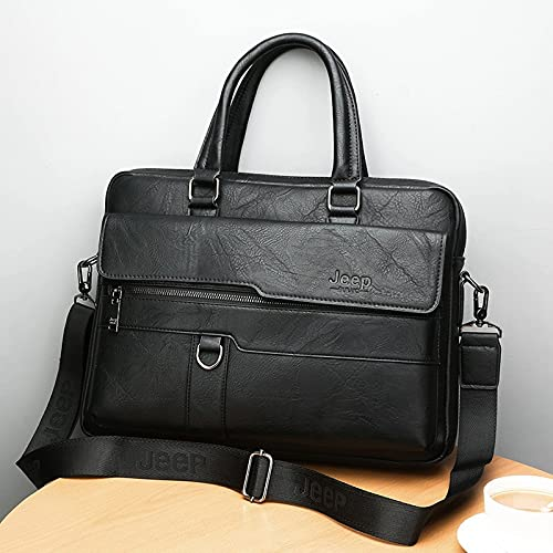 Gwuqbs nya mäns axel handväskor horisontella mode affärsidé