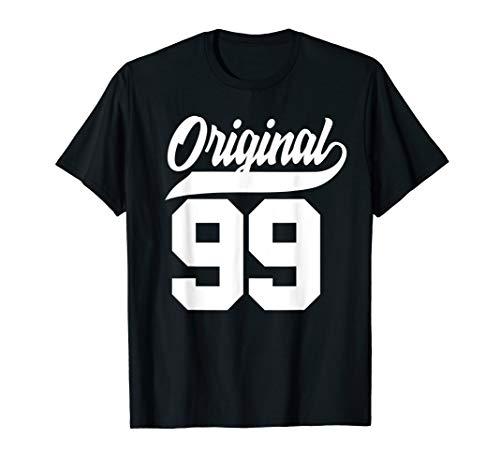 21.Geburtstag Geschenk Jungen Mädchen Original Jahrgang 1999 T-Shirt
