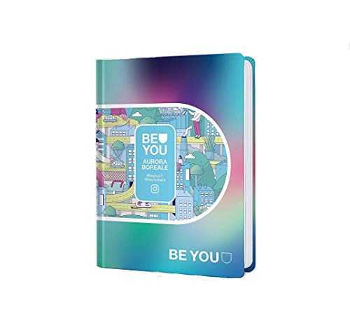 Diario Agenda Scuola Be You Aurora Boreale 2020/2021 Datato 12 Mesi Standard 18x13 cm + Penna Colorata Omaggio
