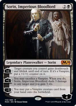 Magic: the Gathering - Sorin, Imperious Bloodlord - Sorin, Signore Sanguinario Imperioso - Core Set 2020