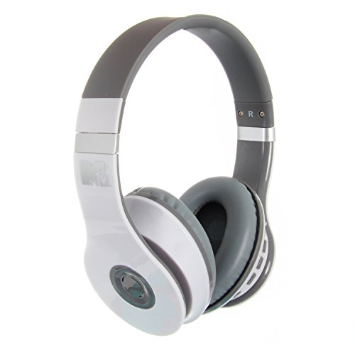 MTV 1774 Bluetooth Headphone weiß/grau