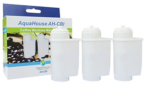 3x AquaHouse AH-CBI Kompatibel Wasserfilter für Siemens TZ70003 TCZ7003 TCZ7033 EQ EQ6, Bosch 12008246 467873 17000705, Kaffeevollautomat Wasserfilterpatrone