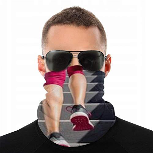 Stirnbänder für Männer Frauen Hals Gamasche, Gesichtsmaske, Stirnband, Schal Hiit Workout Cardio Lauftreppen Training Turban Multi Schal Doppelseitiger Druck Sca