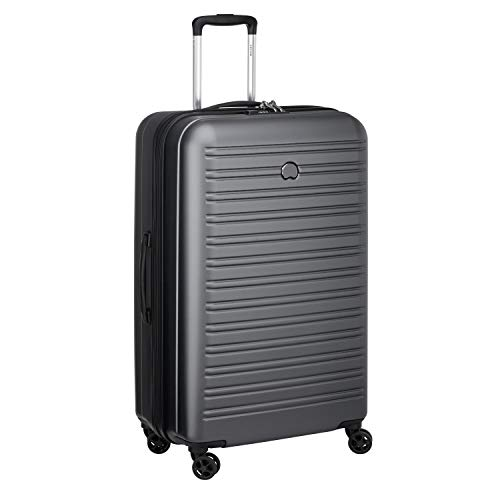 Delsey Paris SEGUR 2.0 Hand Luggage, 70 cm, 81,6 liters, Grey (Grau)