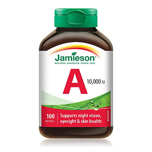 Vitamin A 10,000 IU Softgels