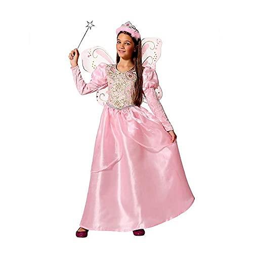 ATOSA disfraz hada madrina rosa infantil 10 a 12 años