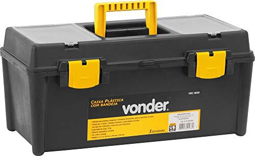 Caixa Plástica Vdc 4035, Com 1 Bandeja Vonder