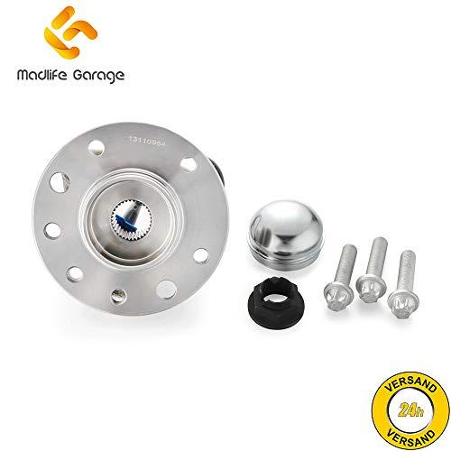 Madlife Garage 13110964 Radlagersatz Radnabe Radlager mit ABS Sensor Vorne Astra H L48 Zafira B A05 Van