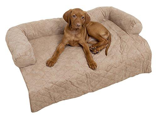 WENKO Tier-Couch für das Sofa, Polyester, 92 x 10 x 74 cm, Braun
