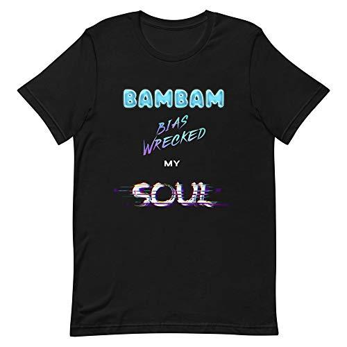 Bambam Tshirt Bias Wrecked My Soul Shirt | Kpop GOT7 Ahgase iGOT7 Fan Merchandise Black