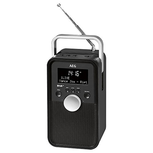 AEG DR 4149 DAB+ Radio / PLL-RDS-UKW-Radio, Akku-/Netzbetrieb, AUX-IN