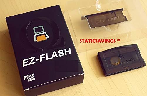 StaticSavings EZ Flash Omega Micro SD Game Card for NDS NDSL IDSL GBA GBASP+ 16 GB memory card