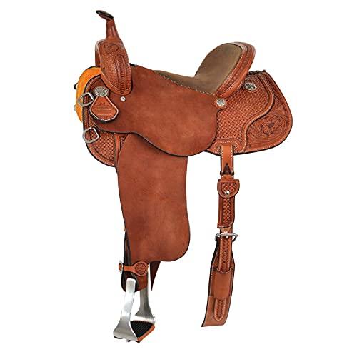 Reinsman Sharon Camarillo VIP Barrel Saddle 14in