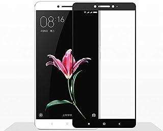 لاصقة حماية كاملة للشاشة نانو بالياف الزجاج قابلة للانثناء لصق كامل لهاتف شاومي مي ماكس 2 اسود