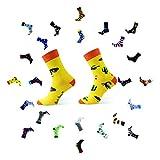 Sesto Senso Calcetines Divertidos Algodón Mujer Hombre Locos Coloridos Funny Socks Cactus Mexicano 39-42 Mexico