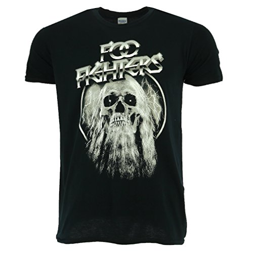 Foo Fighters Elder Negro Camiseta Oficial Con licencia Music