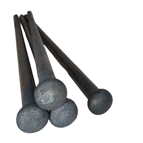 Beprofi Erdnagel Stahl 60cm Erdanker Befestigung für Sonnensegel, Zelte & Stretchzelte (4 Nägel)