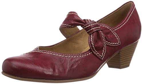 Gabor Shoes Damen Gabor Basic Knöchelriemchen, Rot (55 cherry), 37 EU