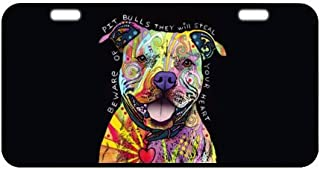 Blackmouth Cur Dog Best Dog Ever Chrome Metal License Plate Frame Tag Border