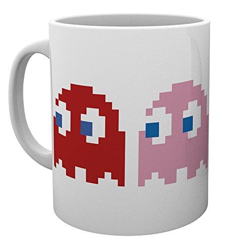 GB Eye Pacman Geister Tasse, Holz, mehrfarbig