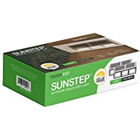 2-Pack Large Size Sunstep Solar Stainless Steel Step / Path / Deck Lights