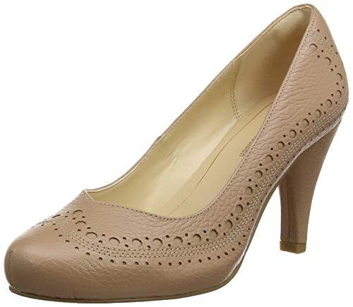 Clarks Zapatos de Tacón para mujer, Hueso