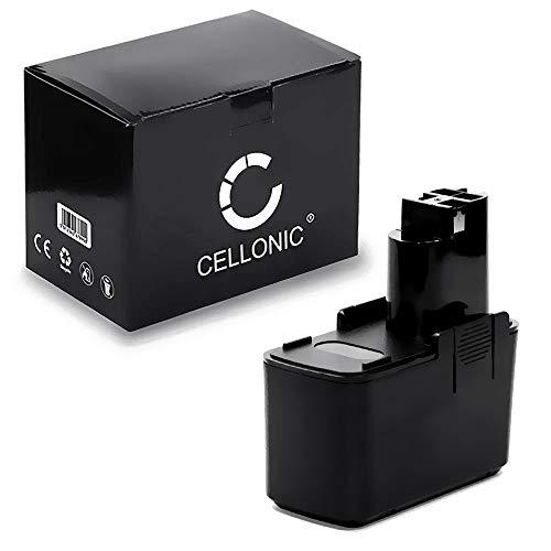 CELLONIC® Premium Akku 12V, 3Ah, NiMH kompatibel mit Bosch GBM 12 VES-2,GSR 12 VES-2,PSR 120 / WURTH ABS 12 M2,ATS12 P 2607335108, 2607335244, 702 300 412, 702 300 512 - Batterie Werkzeugakku