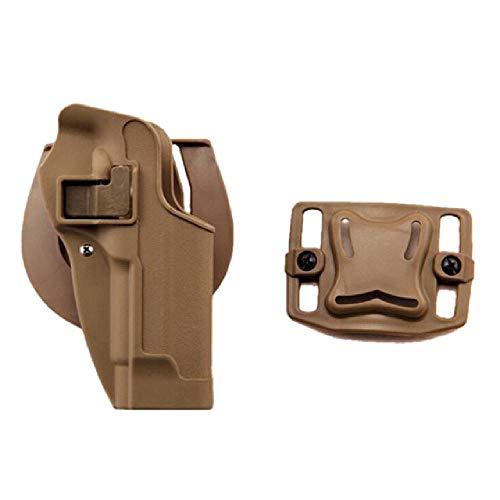 BGJ Funda de Pistola Militar IMI/CQC M92 para Beretta 92, Funda de polímero Roto, Funda táctica para Revista Airsoft