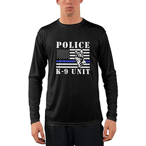 Camiseta clásica de Manga Larga para Hombre, K9 Unit Men's