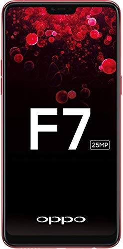 OPPO F7 (Red, 64GB) with offers