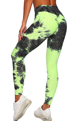 Women's High Waisted Workout Leggings Tummy Control Slimming Scrunch Booty Yoga Pants...