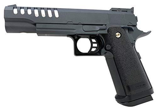Seilershop Softair Gun Airsoft Vollmetall R16G Federdruck Kids Toy Pistole 22cm >0,5 Joule