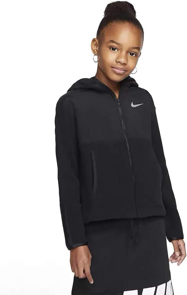 Nike Therma Plush Full Zip Hoodie Girls Active Hoodies