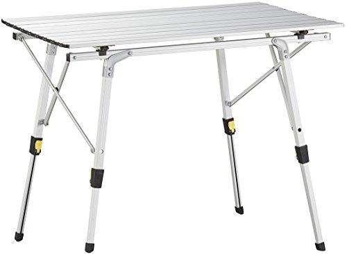 Uquip Variety M Aluminium Tafel voor Camping of Tuin - In hoogte verstelbaar - Medium: 89 x 53cm
