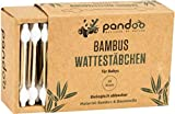 Wattestäbchen aus Bambus (55 Stück) für Babys