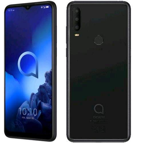 Alcatel 3X 2019, 6.52', 4G, 128 GB ROM + 6 GB RAM, Octa-Core, Jewelry Black, Versione Italiana