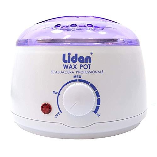 Scaldacera scalda cera paraffina professionale con termostato Lidan 100W ceretta depilazione bellezza donna uomo