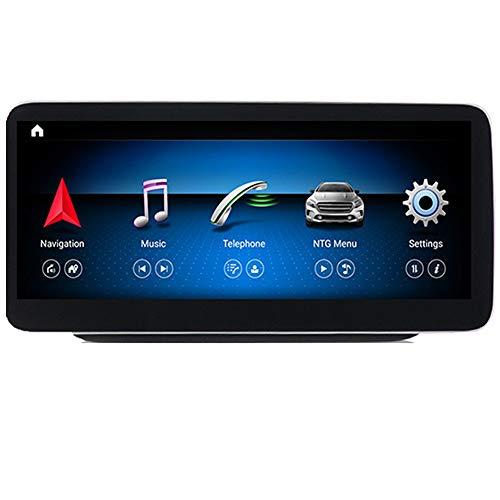 ZBHWYD Android 10.0 Octa-Core-Core 12.5 Pulgadas de navegación GPS de Pantalla Grande, Adecuada para Mercedes-Benz B-Class W245 W246 B200 B180 Modificación, Bluetooth Carplay4 + 64g,N600plus