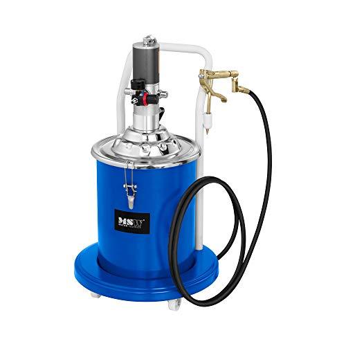 MSW Engrasadora Neumática para Taller Pro-G 20 (Volumen 20 litros, Presión De Trabajo 6-8 Bar, Presión De La Bomba 300-400 Bar)