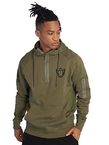 New Era Camo Collection Herren Sweater Oakland Raiders Khaki, Größe:S
