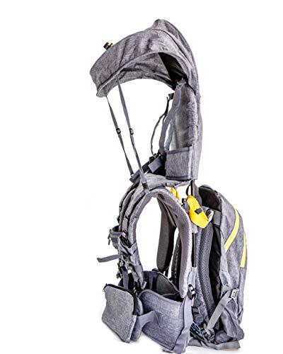 Mochila portabebés para senderismo OE con sombrilla y desmontable de Our Expedition