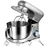 Electric Stand Mixers with 4.5L Bowl Durable Bench Blender Meat Grinder Whisk Beater