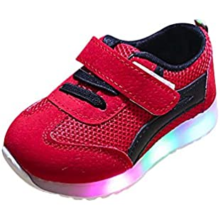 Clearance Sale Toddler Baby Girs LED Light Shoes Boys Soft Luminous Outdoor Sport Sandals,❤️Amlaiworld Baby Boys Girls Shoes