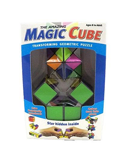 Trade Shop - Amazing Magic Cube Gioco Bambini INTELLIG CUBO Magico Puzzle Geometrico - 0015944