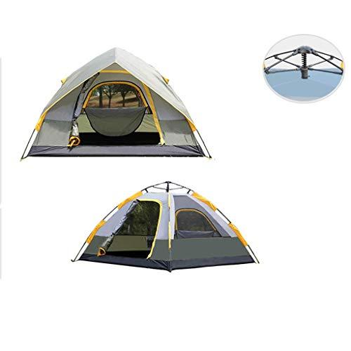 WSGZH Tenda Automatica A Doppia velocità per Tenda da Pioggia Esterna A Doppia Apertura per Campeggio