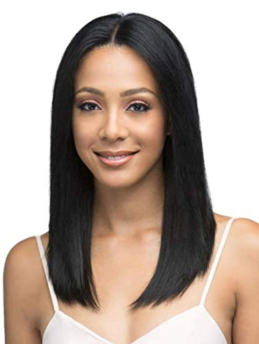 Bobbi Boss Natural Straight 18 Lace Front Remy Human Hair Wig MHRLF005 (30)