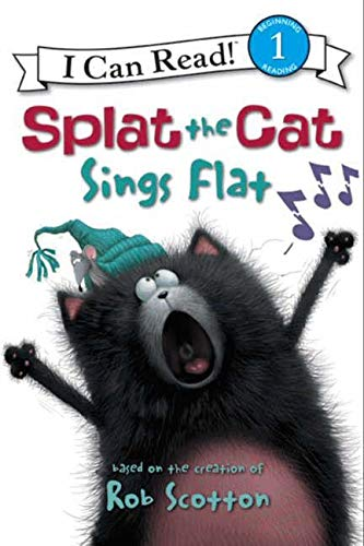 Splat the Cat: Splat the Cat Sings Flat (I Can Read Level 1)の詳細を見る