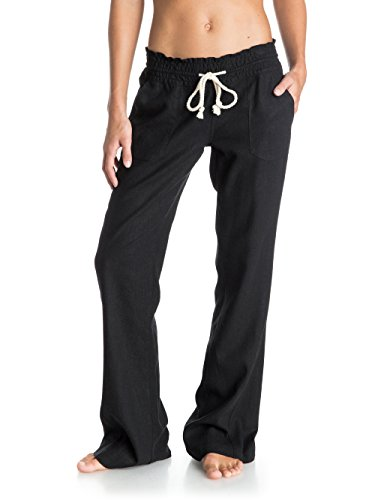 Roxy Women's Oceanside Pant, True Black X-Large