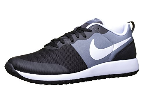Nike Herren Elite Shinsen Laufschuhe, Black/White/Grey (Black/White-Cool Grey), 40.5 EU