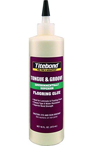 Titebond 2104 Tongue and Groove Glue Bottle, 16 oz.